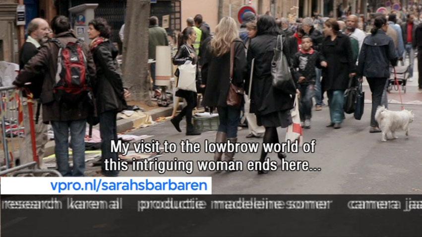 VPRO, TV show, Sarah' Barbaren, NL VPRO, 40MIN