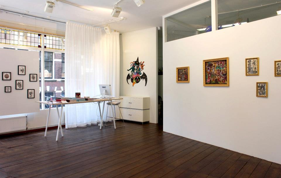 """Solo show """" spell on you"""" Kochxbos gallery, Amsterdam, NL"""