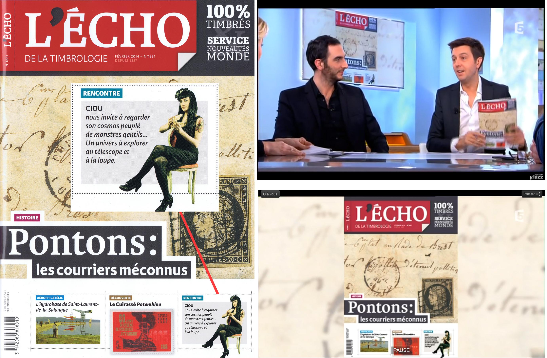 L'echo, magazine FR, French Tv