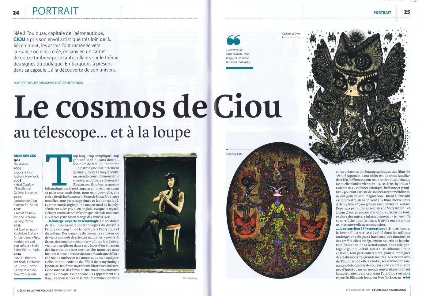 L'echo, magazine FR