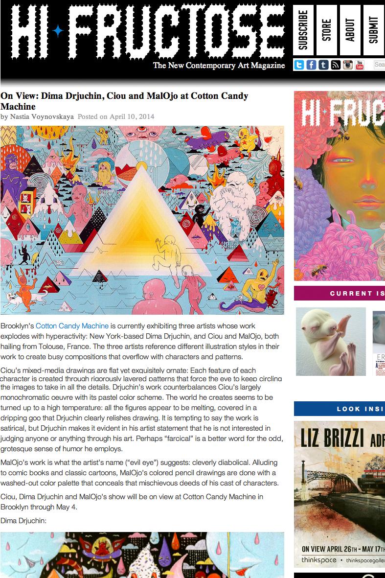 Hi fructose webzine