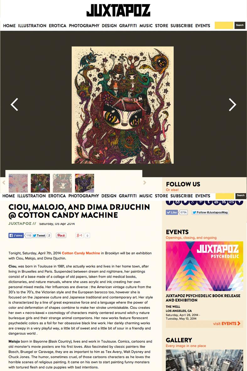 Juxtapoz, webzine USA