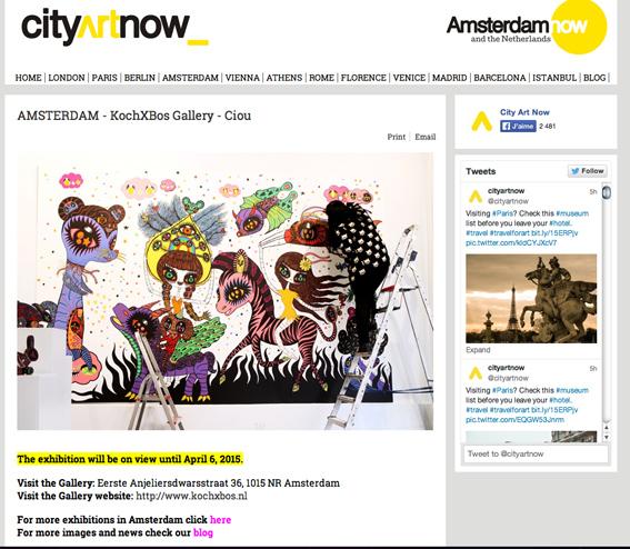 City art now, NL