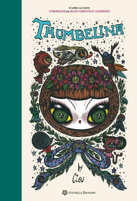 """""""Thumbelina"""", illustrated book, story by Hans Christian Andersen, Scutella edition, 72 pages 2016"""