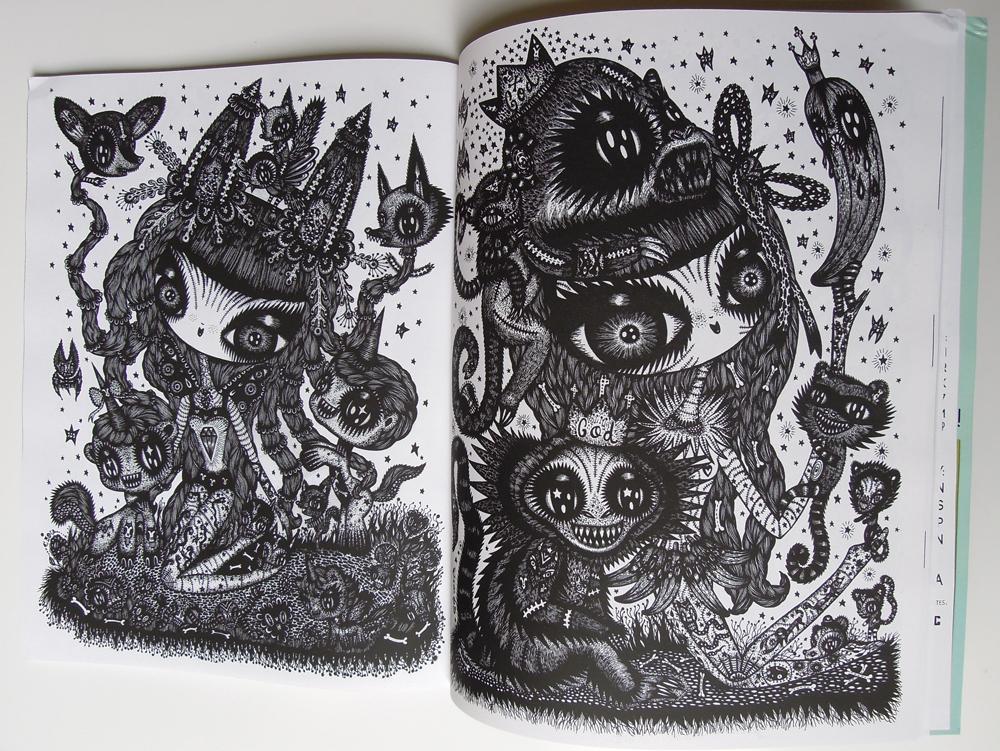 Color Ink book, washburn publication, USA