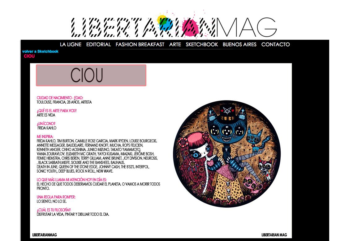 Libertarian mag, Buenos aires