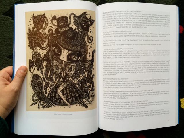Manga Art, by valeria Arnaldi, Castelvecchi shibuya collection, Italy