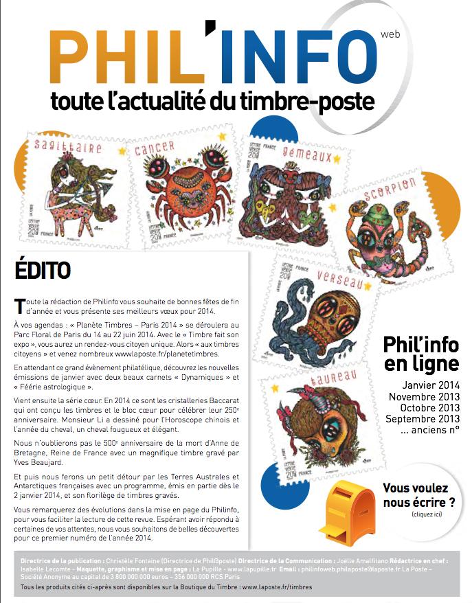 Phil info, magazine, FR