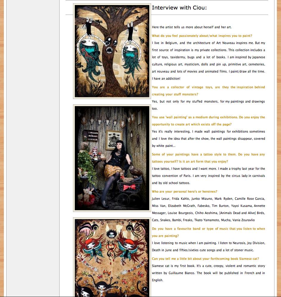 Snippets, magazine and webzine, UK