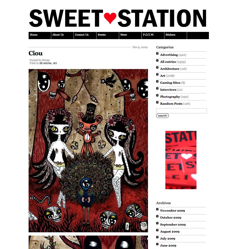 Sweet Station, webzine USA